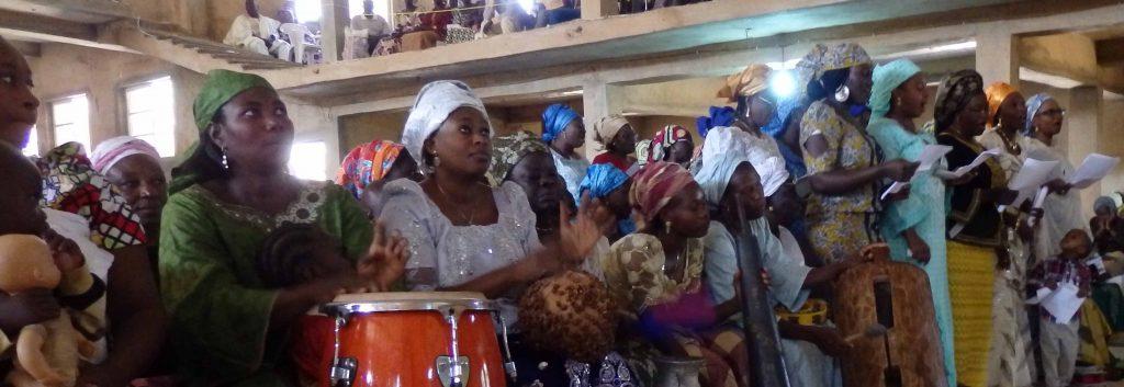 Gottesdienst in Jos, Nordostnigeria